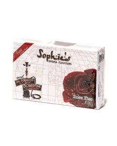SOPHIES TOBACCO FREE MOLASSES ROSE KISS FLAVOUR