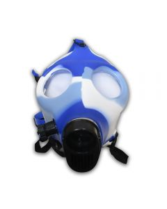 GAS MASK BONG - BLUE