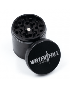 WATERFALL - 4 PART 50MM GRINDER - Black