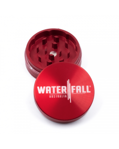 WATERFALL - 50MM CNC 2 PART GRINDER - GLOSS RED