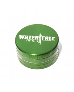 "WATERFALL GRINDER - 40MM / 1.57"" 2 PART CNC GLOSS GREEN"