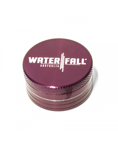 WATERFALL - CNC 2 PART 40MM GRINDER - PURPLE