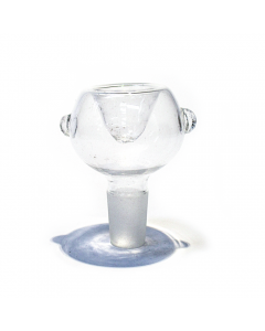 STANDARD GLASS CONE - HOLLOW CLEAR 14mm
