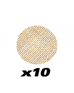 10 PACK - BRASS PIPE SCREENS