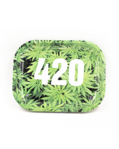 ROLLING TRAY - 420 LEAVES - 18CM x 14CM