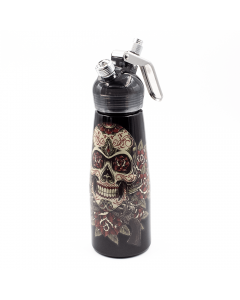 SPECIAL BLUE - WHIPPED CREAM DISPENSER - ROSE SKULL