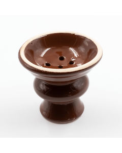 SPARE HOOKAH BOWL LARGE BROWN