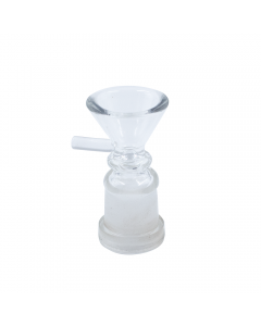 GLASS FUNNEL CONE - FEMALE CONNECTION 18mm (GRAVITY PIPE SPARE)