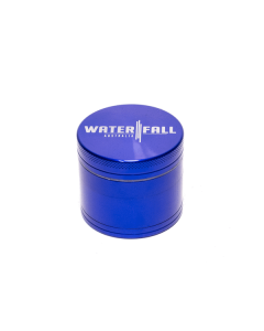 WATERFALL - 4 PART 50MM GRINDER - Blue