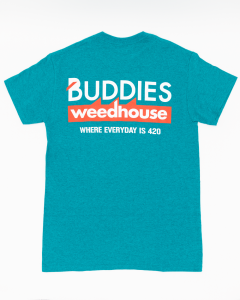 HIGHLINES | BUDDIES WEEDHOUSE GREEN T-SHIRT