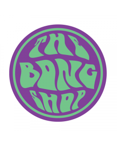 STICKER - THE BONG SHOP PSYCHEDELIC - ROUND