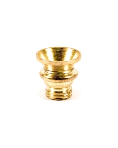 Small Brass Screw Cone   The Bong Shop