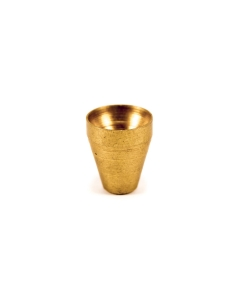 Small Brass Slip in Cone   The Bong Shop