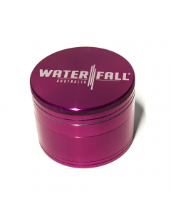 Waterfall 4 Part 75mm Cnc Grinder Pink Img 3 | The Bong Shop