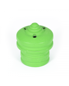 Spare Hookah Plug Large Zinc Alloy Green Red & Blue Img 1   The Bong Shop