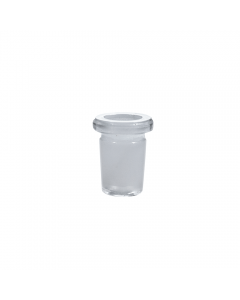 GLASS ADAPTOR PIECE - REDUCER - 18MM TO 14MM