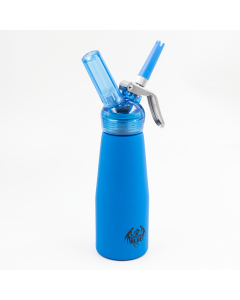 SPECIAL BLUE - WHIPPED CREAM DISPENSER - BLUE PRINT SUEDE LARGE
